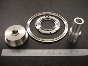 precision steel machined parts
