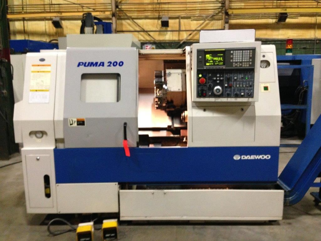 Daewoo Puma 200MSC CNC Turning Center